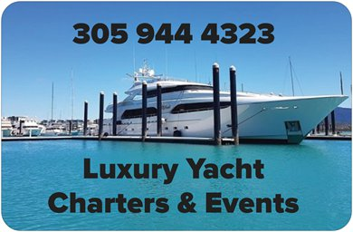 miami beach luxury yacht charters and events
