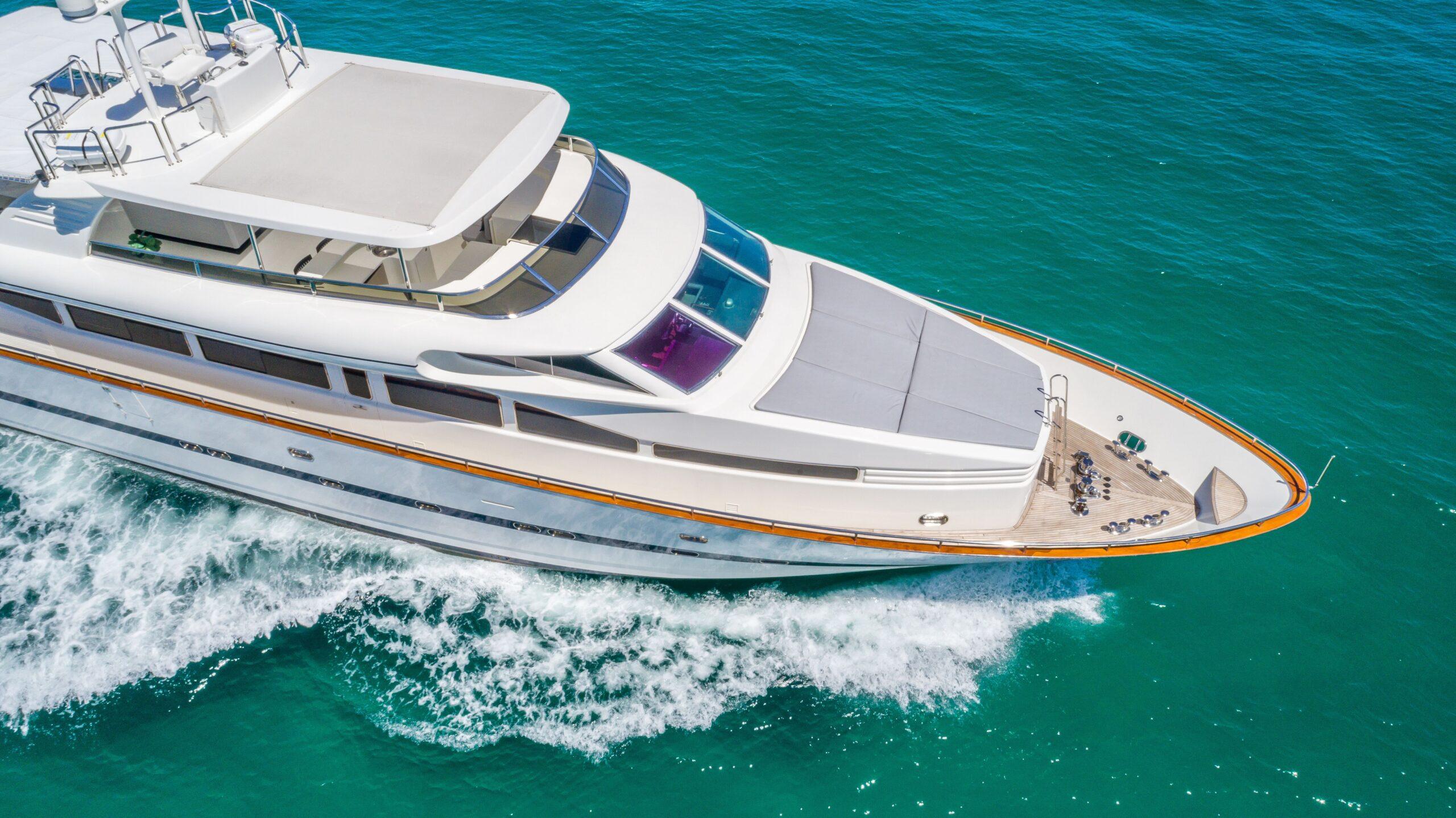 private yacht rentals miami
